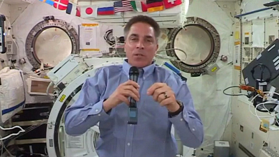 CBS This Morning - ISS commander prepares for crew from U.S.