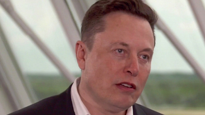 CBS This Morning - Elon Musk comments on groundbreaking launch