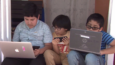CBS This Morning - Digital divide deepening for Latinx students