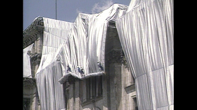 Sunday Morning - 1995:  Christo & Jeanne-Claude's Reichstag