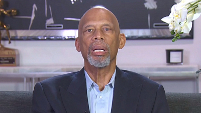 CBS This Morning - Kareem Abdul-Jabbar defends protests