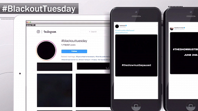 CBS This Morning - Blackout Tuesday marks day of reflection