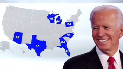 CBS This Morning: Saturday - Polls give Biden an edge over Trump