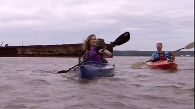 "CBS This Morning: Saturday - ""Ghost ships"" greet kayakers in Mallows Bay"