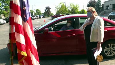 Sunday Morning - Drive-thru citizenship