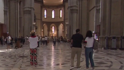 CBS This Morning - Italy's museums return from lockdown