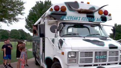 CBS This Morning - Ice cream bus gives more than frozen treats