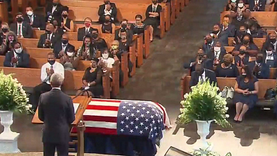 CBS This Morning - Civil rights leader John Lewis laid to rest