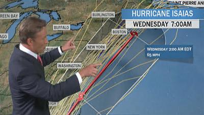 CBS This Morning - Hurricane Isaias moves toward East Coast
