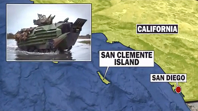CBS This Morning - Eight Marines missing after training incident