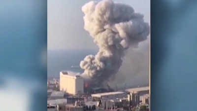 CBS This Morning - Powerful explosion rocks Beirut