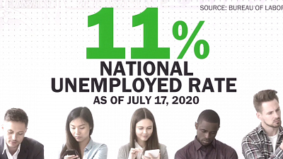 CBS This Morning - Big cities see elevated jobless rates