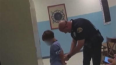CBS This Morning - Family files lawsuit over 8-year-old's arrest