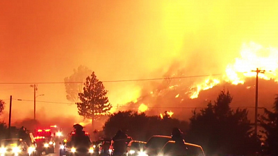 CBS This Morning - California's Lake Fire explodes to 10K acres