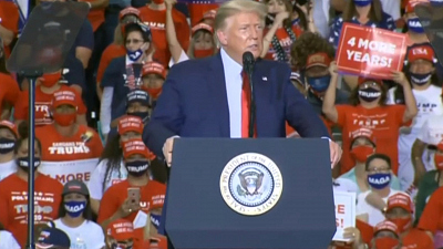 CBS This Morning - Trump vs. Biden: Contrast in campaign events