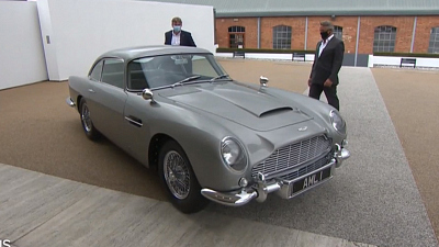 CBS This Morning: Saturday - James Bond car on sale for $3.5 million