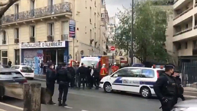 CBS This Morning - Knife attack near former Charlie Hebdo office