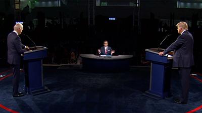CBS This Morning - Trump, Biden trade barbs in chaotic debate