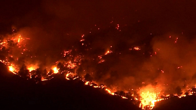 CBS This Morning - Northern California fires rage out of control