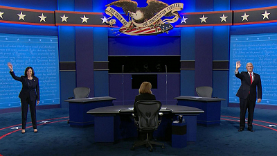 Red and Blue - Takeaways from the vice presidential debate