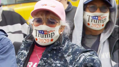 CBS This Morning - Hearing from voters at a Trump rally