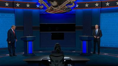 "Red and Blue - ""Red & Blue"": The final Trump-Biden debate"