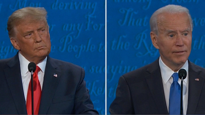 CBS This Morning - Trump and Biden face off in final debate