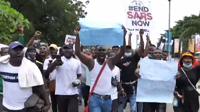 CBS This Morning: Saturday - Protesters, government forces clash in Nigeria