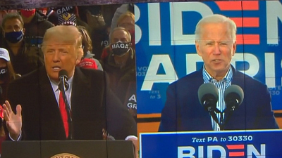 CBS This Morning - Trump and Biden campaigns set for final week