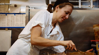 CBS This Morning - Chef Christina Tosi inspires young bakers
