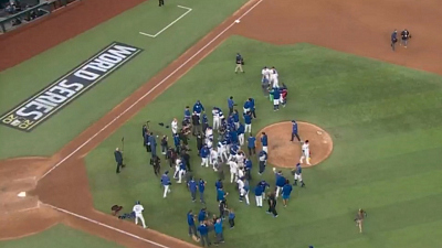 CBS This Morning - Eye Opener: L.A. Dodgers win World Series