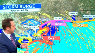 CBS This Morning - Hurricane Zeta gains strength