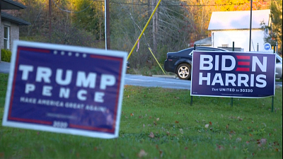 CBS This Morning: Saturday - What are lawn signs' role in an election?
