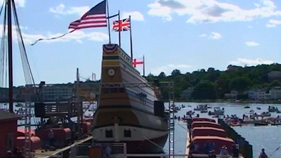 CBS This Morning: Saturday - Mayflower's 400th: Retelling the story of Plymouth Colony