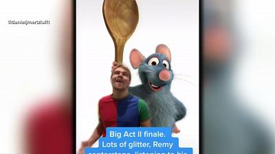 "CBS This Morning - Tik Tok users create ""Ratatouille"" musical"