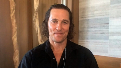 CBS This Morning - McConaughey opens up about family, career
