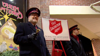 CBS This Morning - Salvation Army's Red Kettle goes digital
