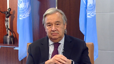 "CBS This Morning - U.N. chief warns planet moving toward ""suicide"""