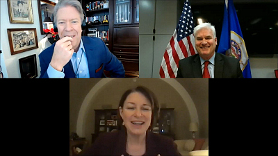 "The Takeout - Sen. Klobuchar & Rep. Emmer on ""The Takeout"""
