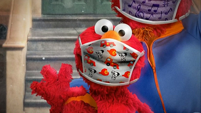 CBS This Morning - How Elmo helps kids cope during the pandemic