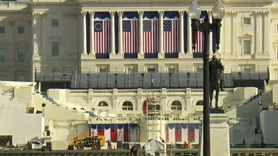 CBS This Morning - Eye Opener: Inauguration Day preparations