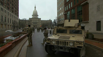 CBS This Morning - States ramp up security before inauguration