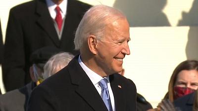 CBS This Morning - Eye Opener: Biden sworn in as president