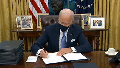 CBS This Morning - Eye Opener: Biden signs 29 executive actions