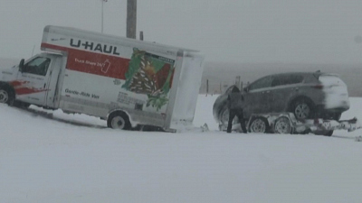 CBS This Morning - Wild weather strikes U.S. with snow, tornado