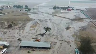 CBS This Morning - Winter storm, mudslides hit California