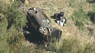 CBS This Morning - Eye Opener: Tiger Woods injured in car crash