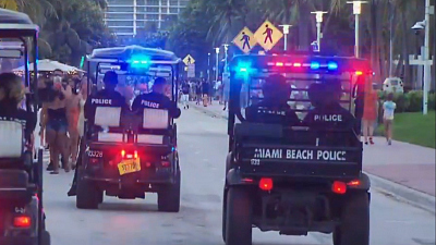 CBS This Morning - Florida officials crack down on spring break