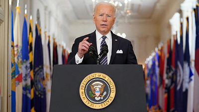 CBS News Specials - Biden gives first prime-time address