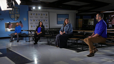 CBS This Morning - Teachers on coping during a year of trauma